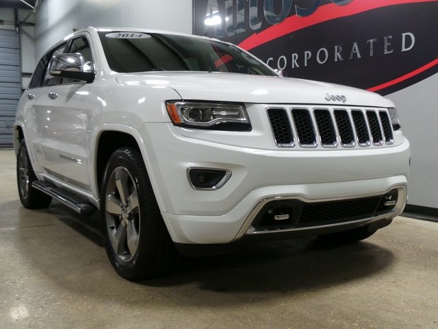 Jeep Grand Cherokee Overland >> Pre Owned 2014 Jeep Grand Cherokee Overland 4wd