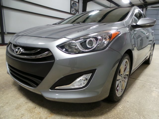 Pre Owned 2013 Hyundai Elantra Gt Base W Blue 4d Hatchback In