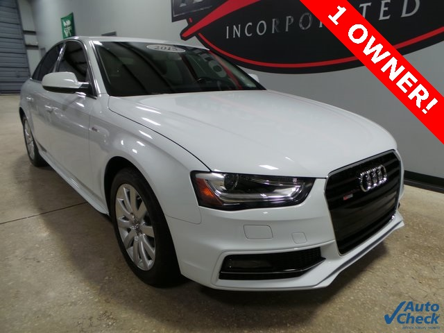 Audi A4 2.0T >> Pre Owned 2015 Audi A4 2 0t Premium Plus Fronttrak 4d Sedan